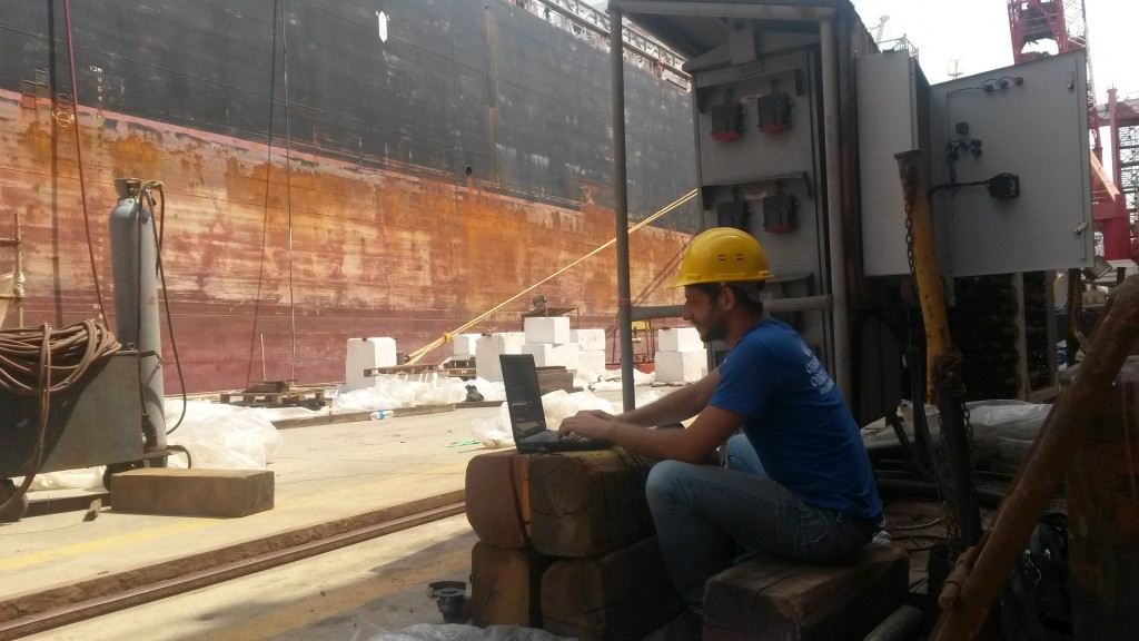 Being a PLC programmer at the Shipyard of Tuzla